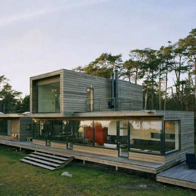 die besten 25 containerhaus design ideen auf pinterest container h user container. Black Bedroom Furniture Sets. Home Design Ideas