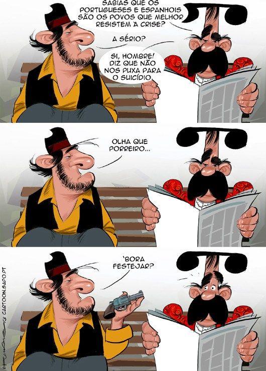 Cartoon: Humor negro