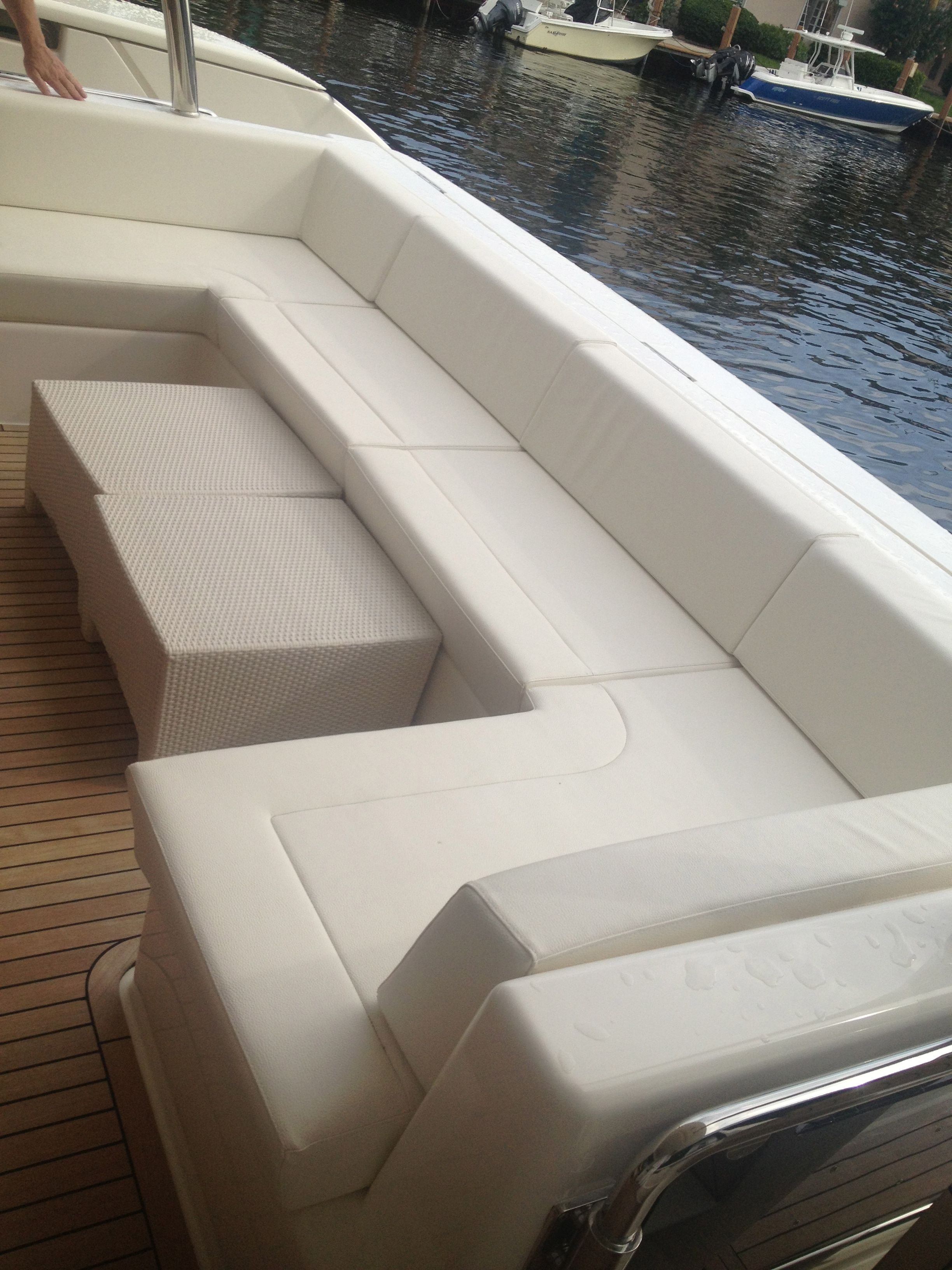 upholstery is the one of the most important finishes on your yacht