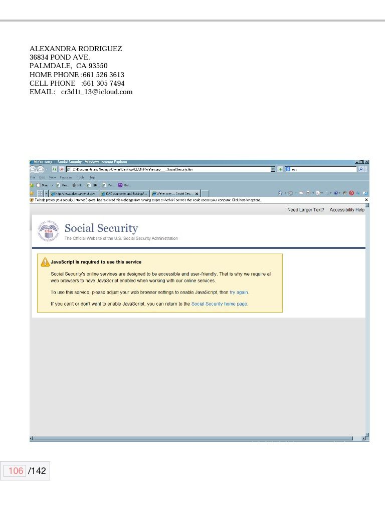 SSI services through web not able hacked pc full of