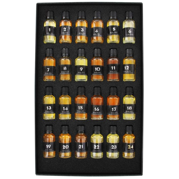 Diy Whiskey Advent Calendar : Whisky world adventskalender männergeschenk first