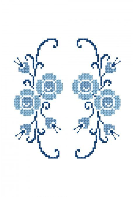 Flores no espelho | bordado2 | Pinterest | Bordado