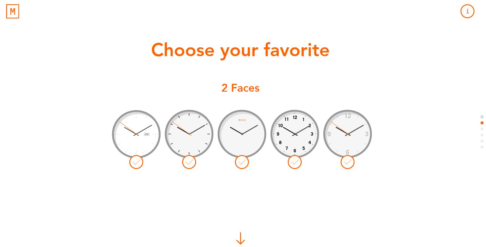 #UX #UI #Filter #custom Design watch designawatch.mijlo.com