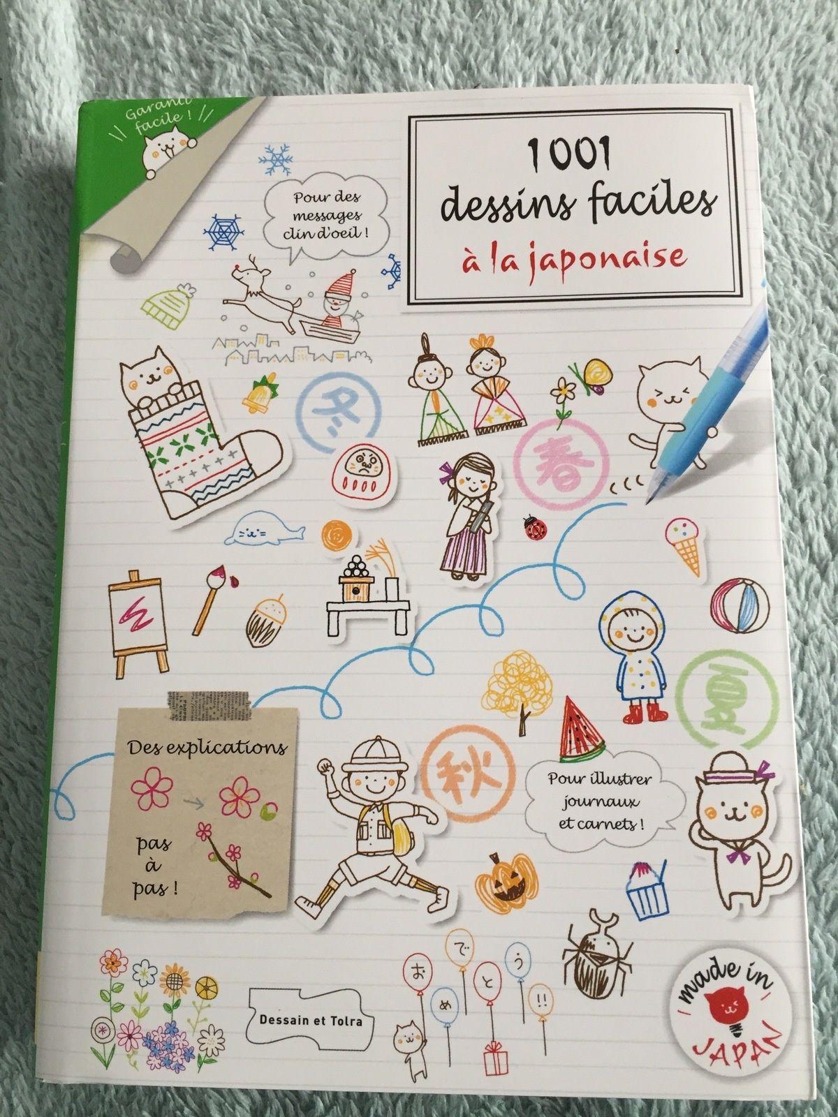 1001 dessins faciles à la japonaise de KAMO