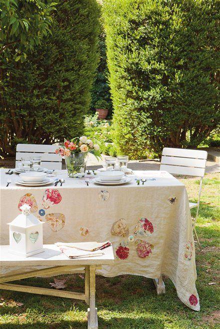 Monte a mesa para o chá da tarde ao ar livre!