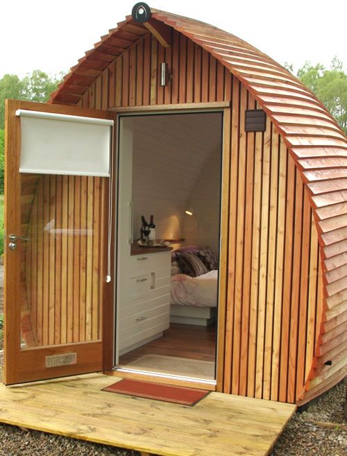 Glamorous Camping By Loch Ness In The Highlands Tiny House Design Little Houses Mini Cabins