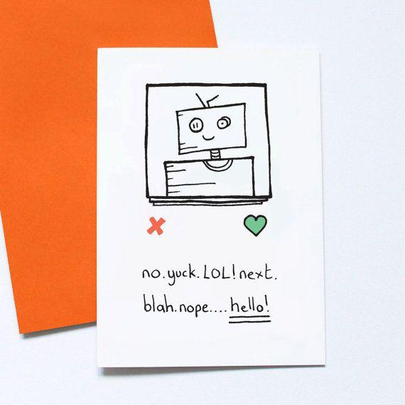 Tinder Couple Card Tinder Love Swipe Right Valentines Card – Design a Valentine Card Online