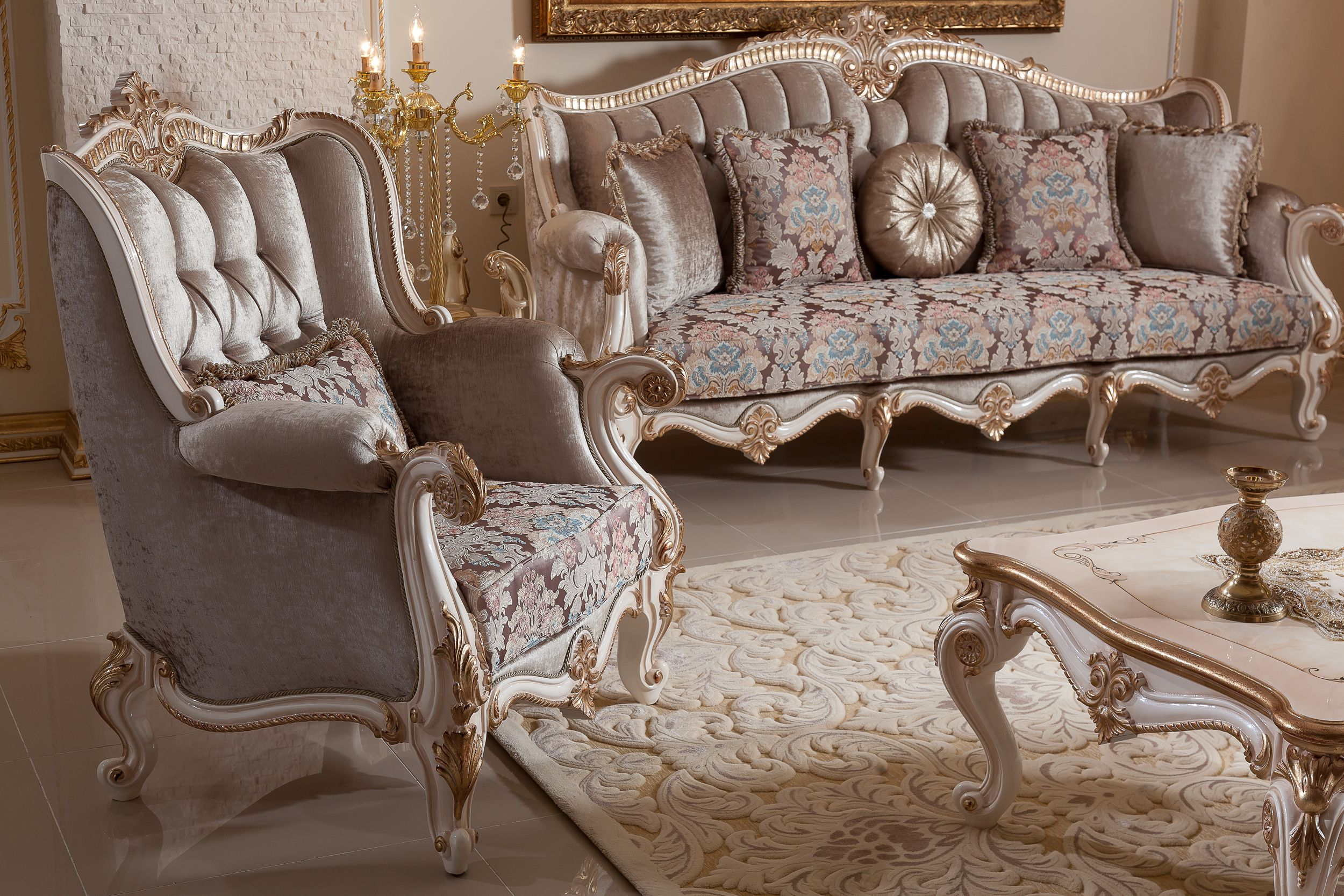 Inci Sofa Set Handmade Turkish Furniture You Can Give Order This