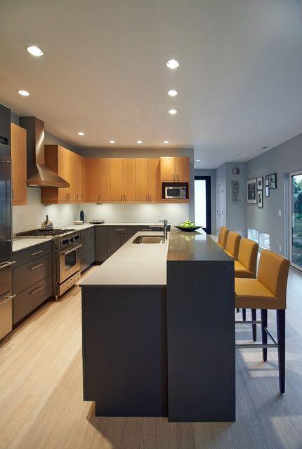 Simply Mod Contemporary Kitchen Seattle By Lucy Johnson Interior Design Modern Kitchen Cabinets Kitchen Cabinet Styles Classy Kitchen