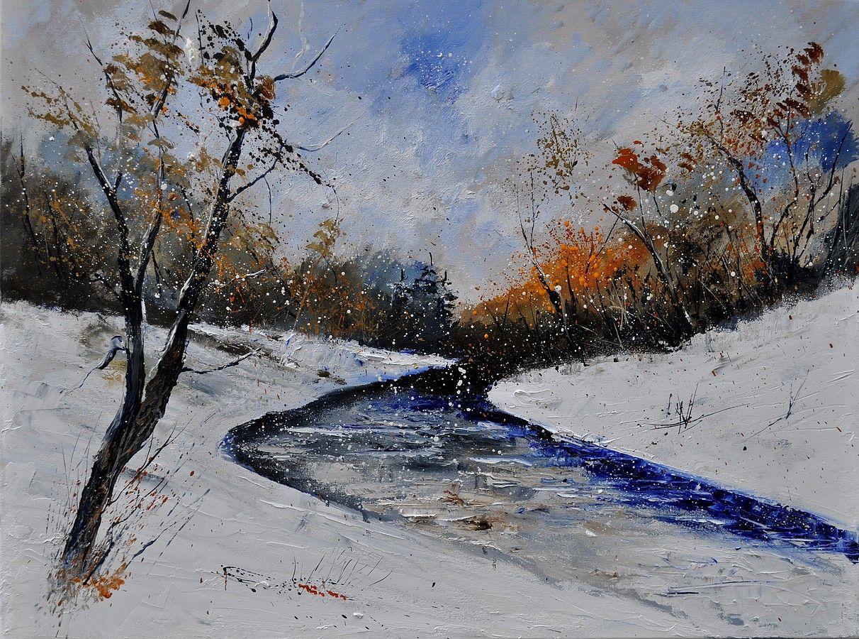 http://bit.ly/1PjnJXe  #Winter #Painting #ForSale #Landscape