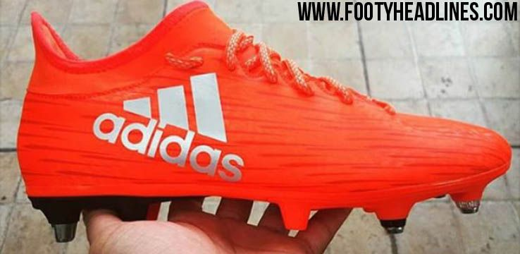 on sale 2c4de 7d37f The red next-gen Adidas X 16.1 Boots introduce a striking ...