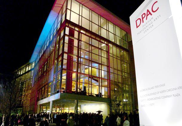 durham must sees dpac durham performing arts center. Black Bedroom Furniture Sets. Home Design Ideas