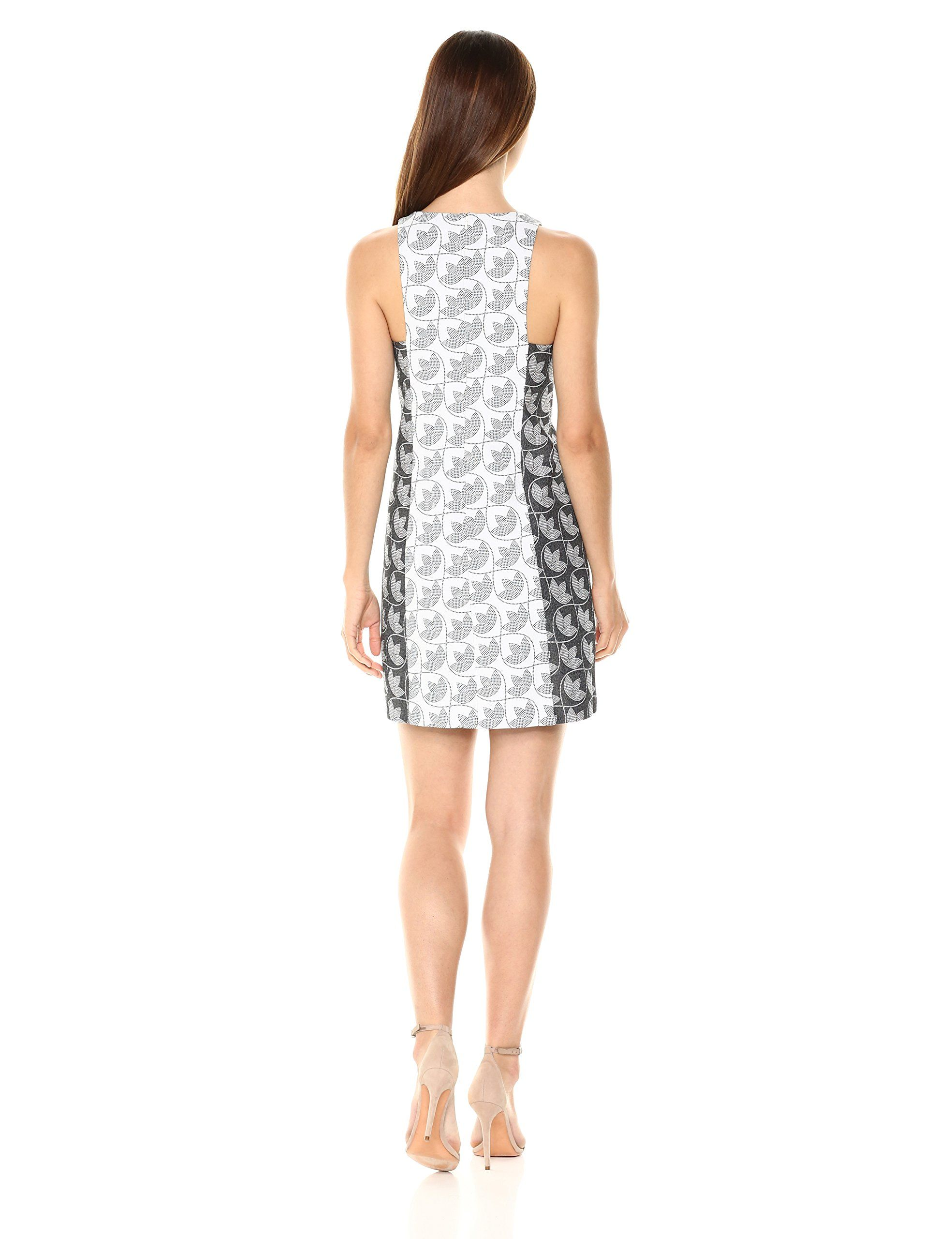76b93fc974fc Trina Trina Turk Womens Loma 2 Sleeveless Shift Dress White 8   You can  find out more details at the link of the image-affiliate link.  Dresses