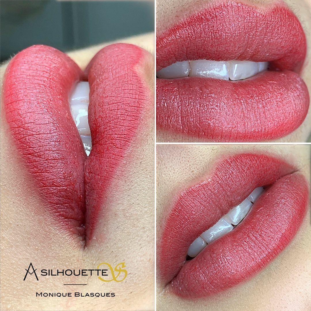 Labios Cheios De Charme Temos Tecnica Aquarelle Lips
