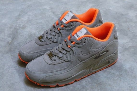 d98a6f5770003c Nike Air Max 90 Milan Home Turf - Grey Orange