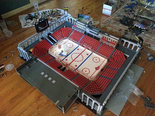 Lego Hockey Rink Google Search Lego Hockey Cool Lego Lego