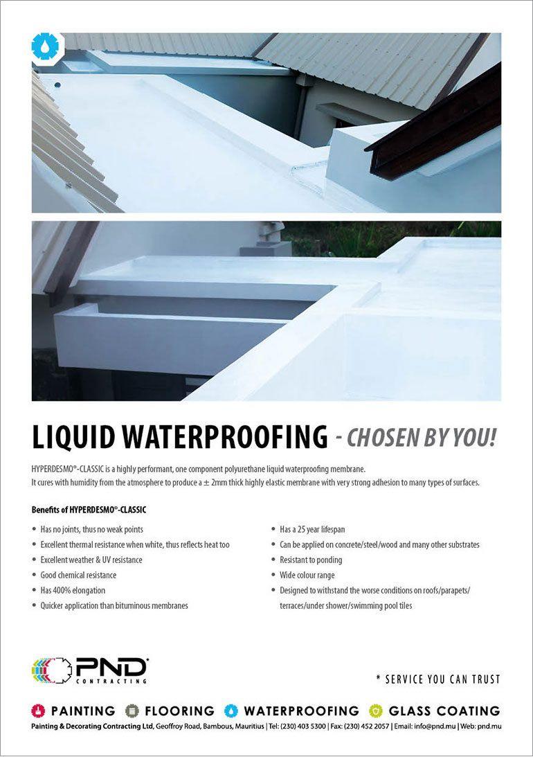 PND Contracting - Liquid Waterproofing  Tel: 403 5300 | Property