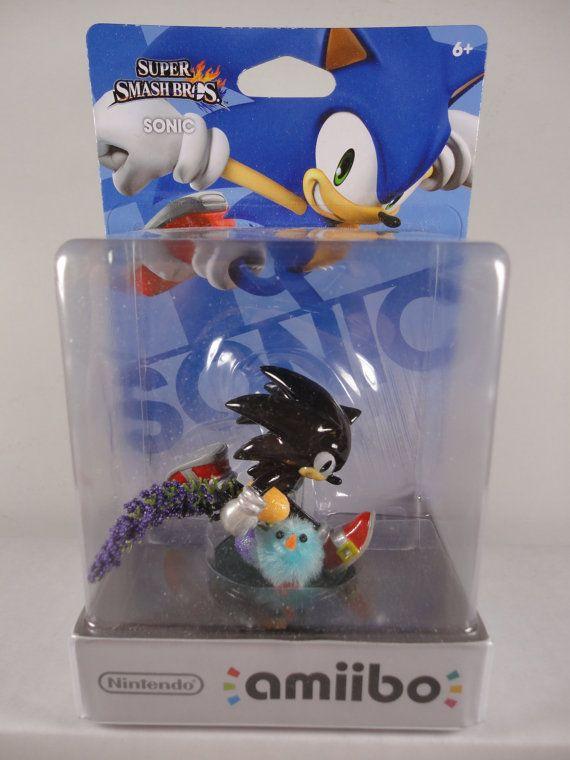 Custom Nintendo Amiibo Shadow The Hedgehog Updated Amiibo The