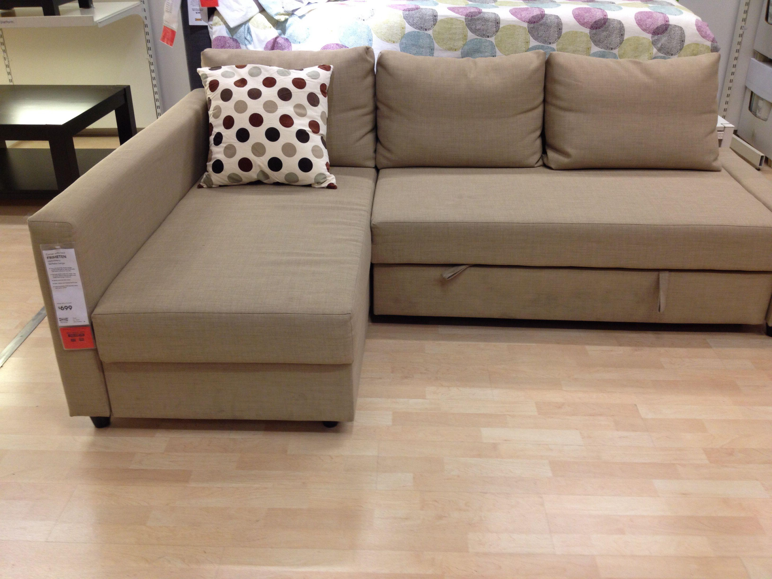 Friheten Sofa From Ikea It Has A Bed 399 Euros
