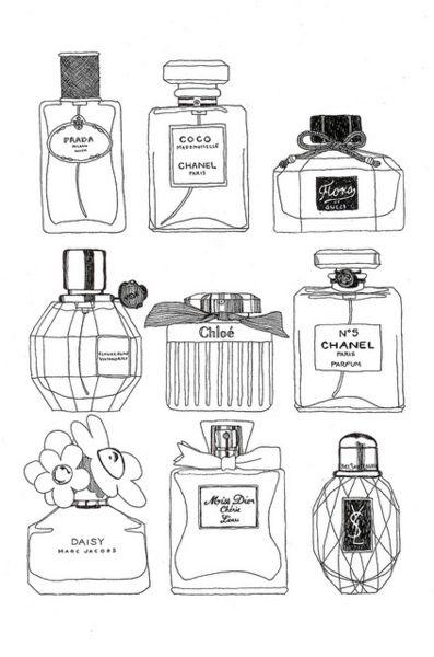 Perfume 3 Com Imagens Vidros De Perfume Frascos De Perfume