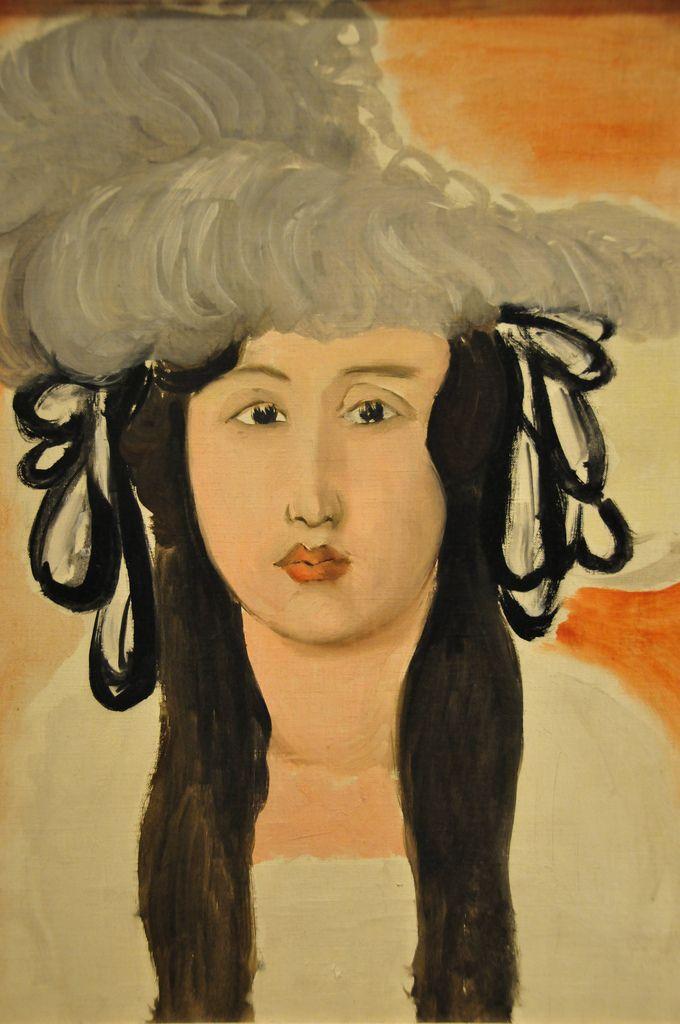 Henri Matisse - The Plumed Hat, 1919