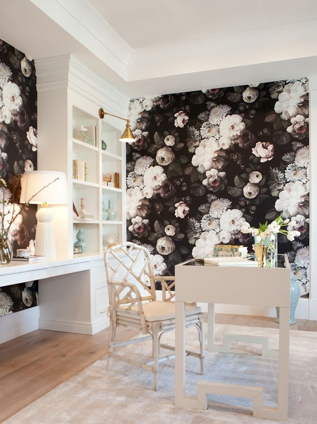 Best 25+ Office Wallpaper Ideas On Pinterest | Wallpaper Decor, Home  Wallpaper And Home Office Desks
