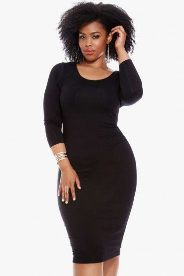 We all have that ONE go-to little black dress that makes us feel sexy and confident. For me, it's always been several thatI have come to love and treasure over the years. Today I am sharing 13 of my absolute favorites for the season. Ashley StewartLACE-UP BODYCON SWEATER DRESS [SHOP] Lane BryantFIT & FLARE DRESS …