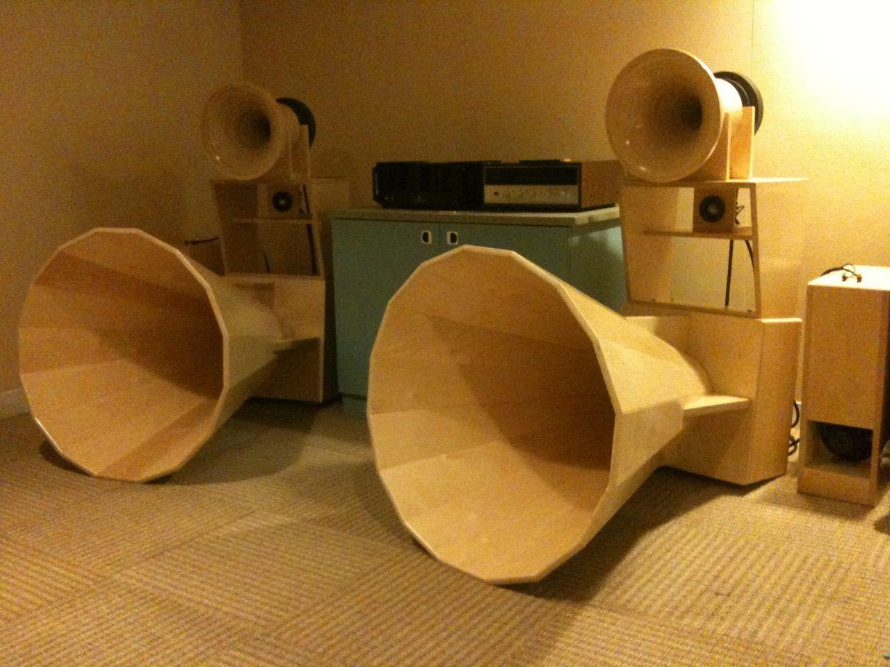 Diy Wooden Horn Tweeter Google Search Sound Tech Horns Wooden