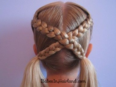 15 Creative Braids for Little Girls