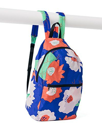 2d4bf9976b BAGGU Ripstop Nylon Backpack Cobalt Cactus Flower    Want to know more