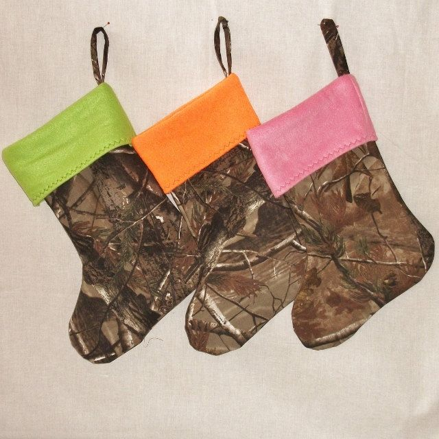 realtree camo christmas stocking 800 via etsy after we get our house ill have to get these for next xmas - Camo Christmas Stocking