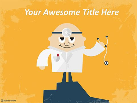 Doctor Powerpoint Template  Medical Template