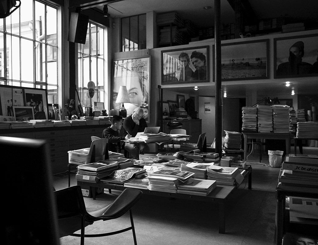 Peter Lindbergh On Instagram A Look Back On Working Sessions In Paris Doing Research For Exciting Upcoming Projects