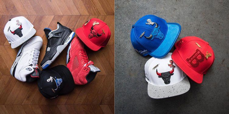 cb2a9de4110ded Pro Standard Chicago Bulls Hats to Match Recent Air Jordan Retro Releases
