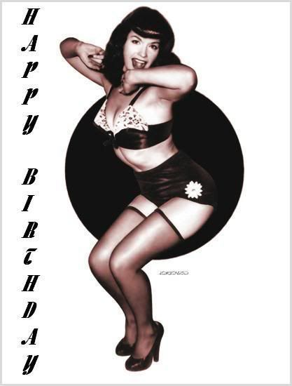 Betty page erotic ecards
