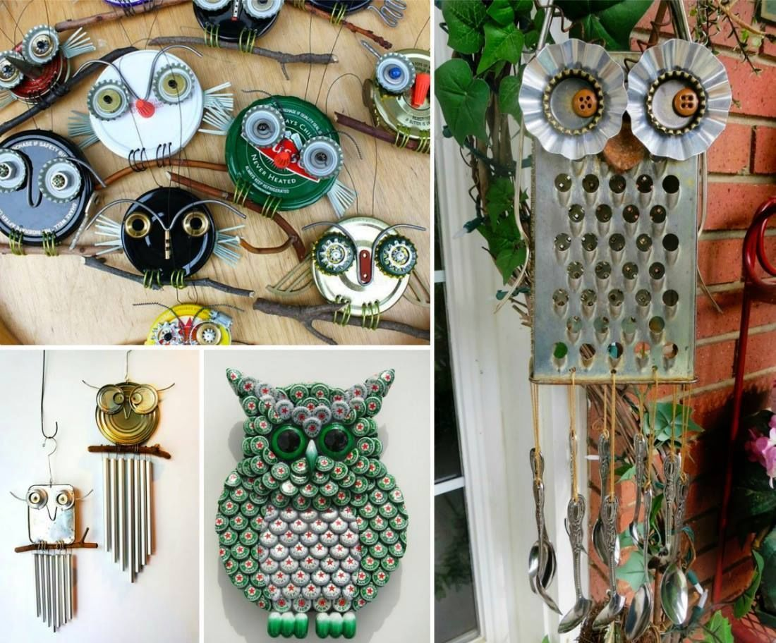 Diy garden decorations - Diy Recycled Owl Art Pictures Photos And Images For Facebook Tumblr Pinterest