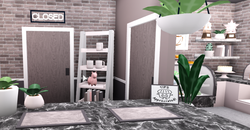 My Bloxburg Cafe Ordering Area House Layouts Interior Room Decor