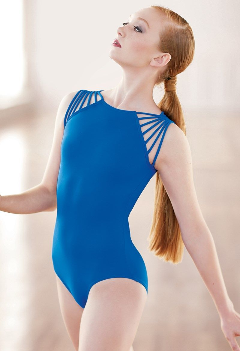 bbd8fe0d4 Strappy Shoulder Leotard