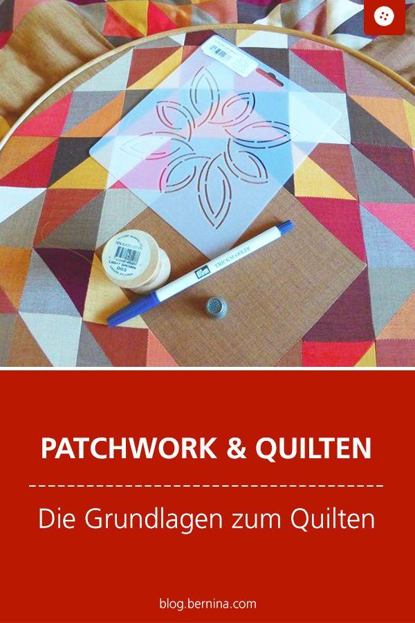 BERNINA Medallion Quilt-Along / Les bases du quilting »Blog BERNINA   – Patchwork & Quilten – Anleitungen und Vorlagen