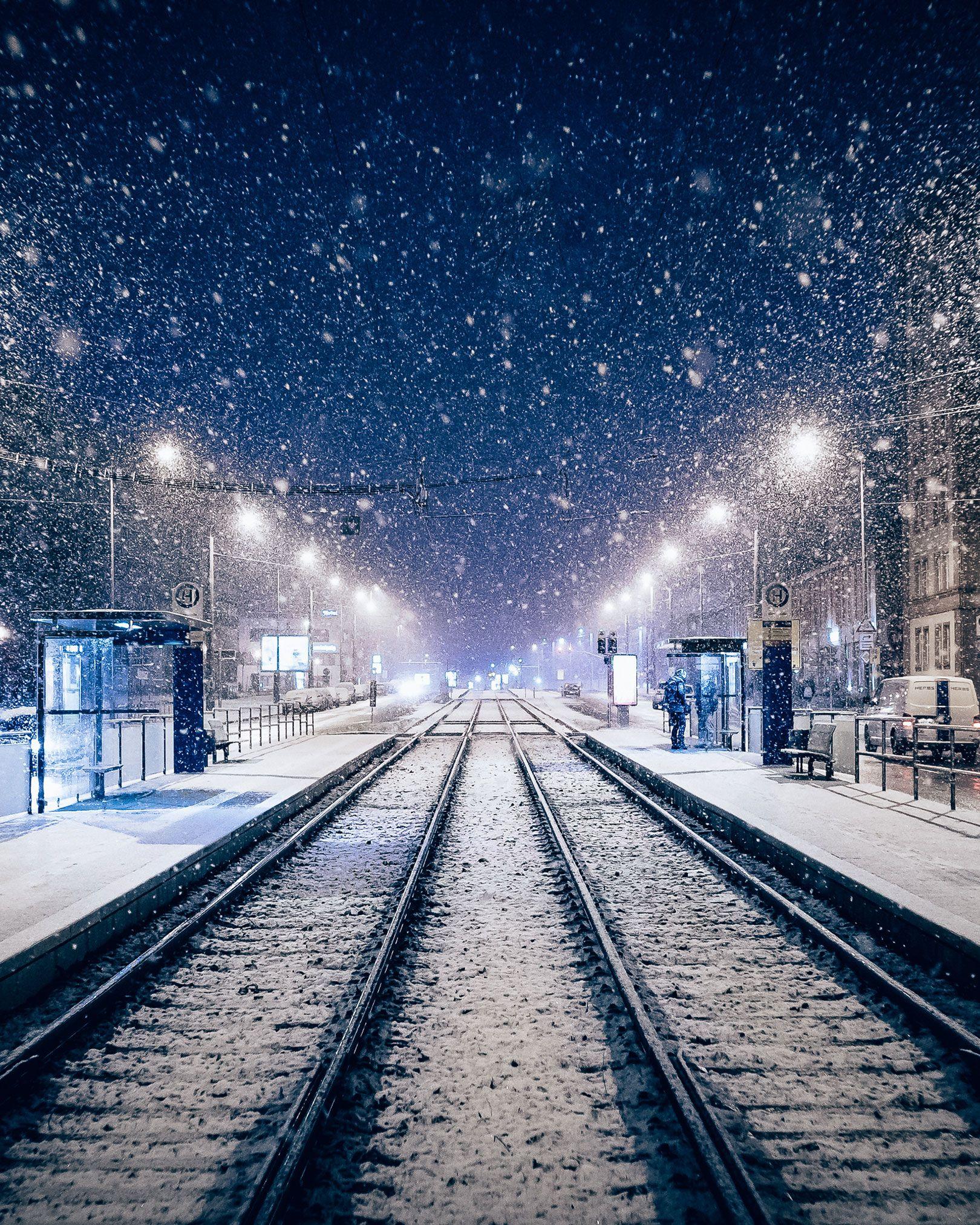 Leipzig Fotografie leipzig winter nights by daniel köhler photography