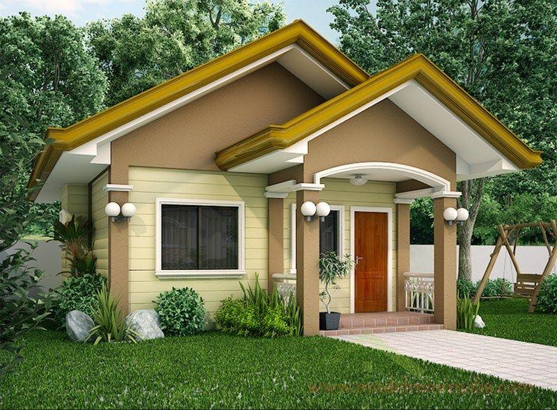 60 Gambar Tampak Depan Rumah Minimalis 1 Lantai Sebuah Rumah Yang Nyaman Selalu Diidenti Bungalow House Design Beautiful Small Homes Small House Design Plans