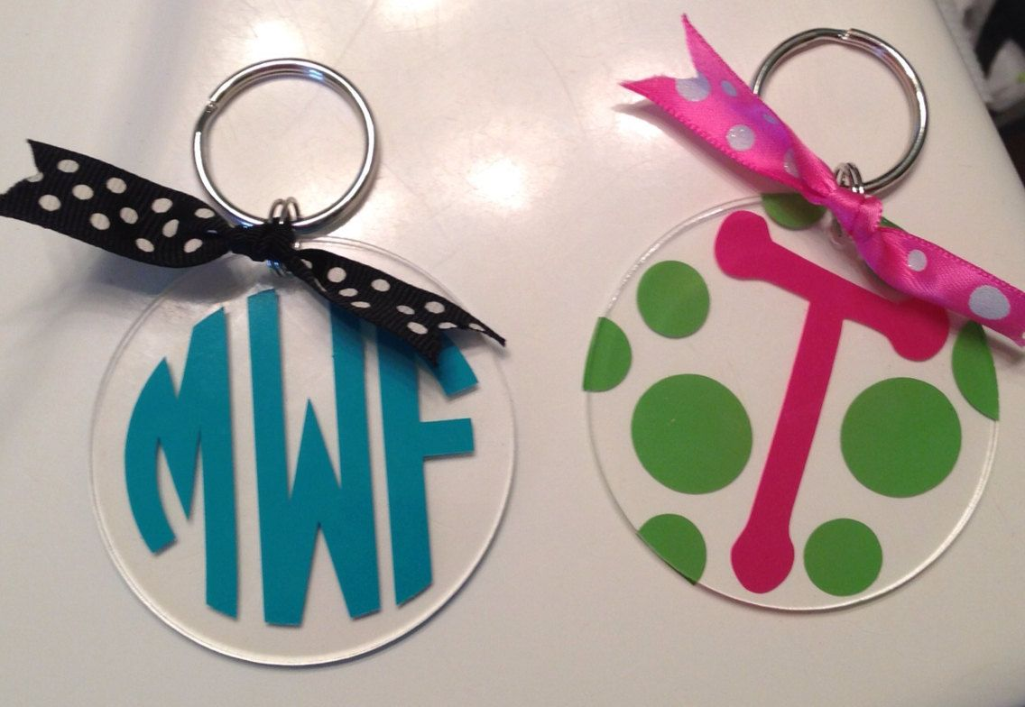 Personalized+Keychain+by+TheThoughtfulTulip+on+Etsy,+$6.00