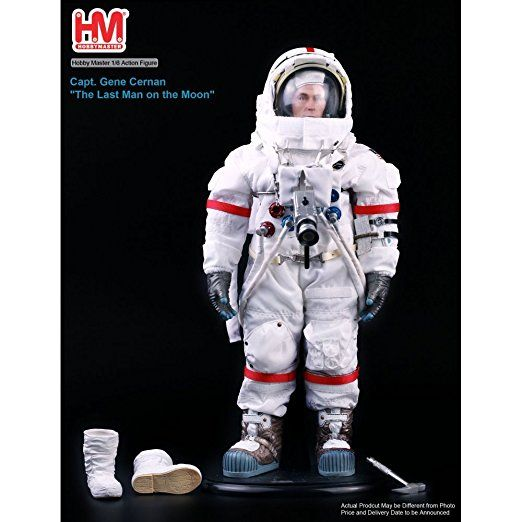 1 6 Action Figure Apollo 17 Captain Eugene Cernan Man On The Moon Space Suit Eugene Cernan