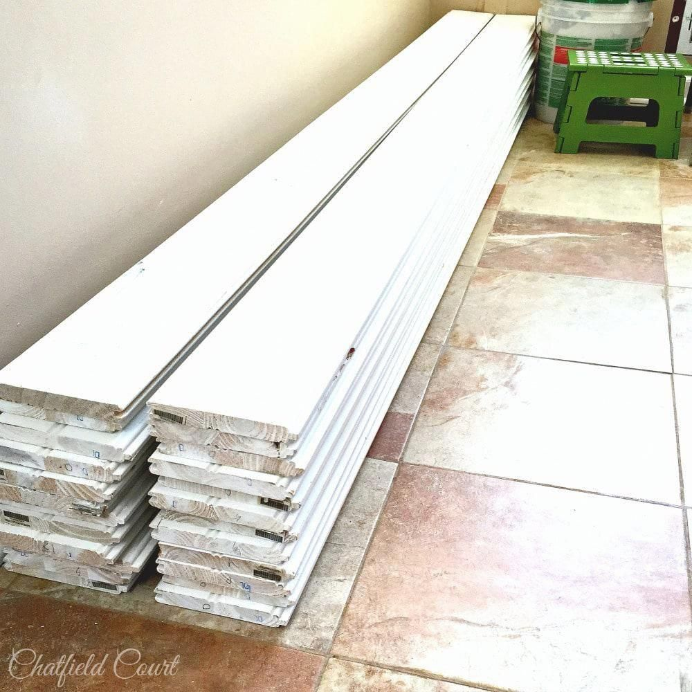 For more comfy flooring install some vinyl tiles or