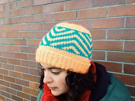 Zig Zag Chevron Hat | A Free Pattern from Alaska Knit Nat | Knitting ...