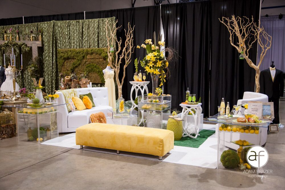 Citrus themes tablescape competition vermilion events