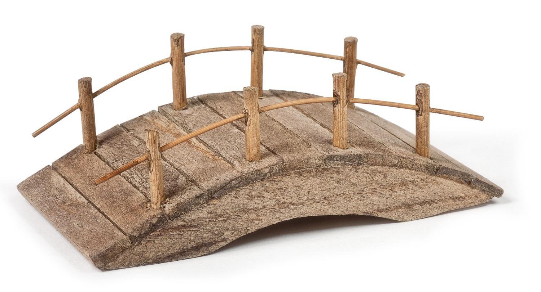 Fabriquer Un Petit Pont De Bois mini-pont vbs, en bois, env. l 9 x p 4,8 x h 3 cm | pont