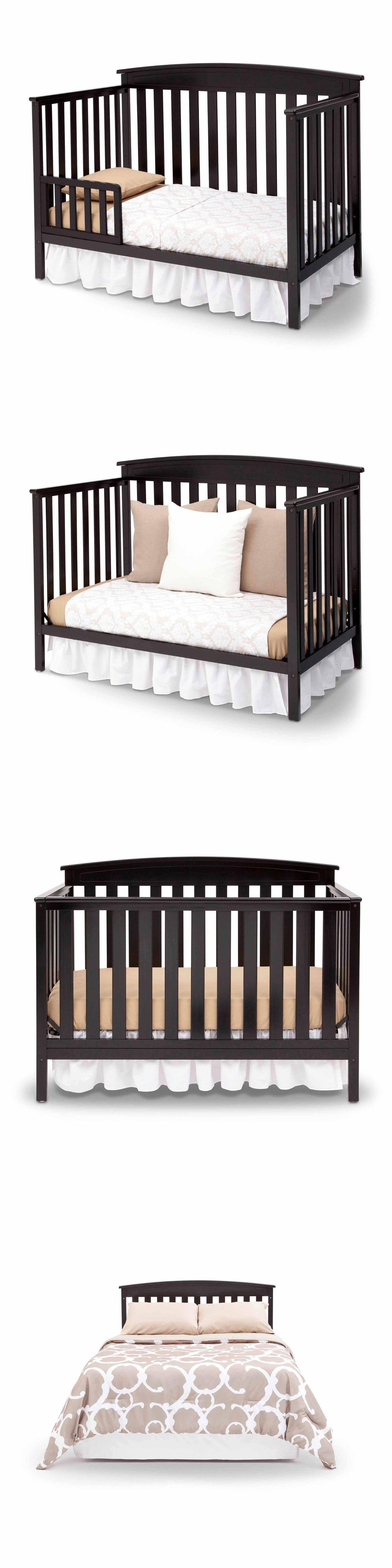 Nursery Furniture 20422 Delta Children Gateway 4 In 1 Convertible Crib Black Buy It Now Only 149 99 On Nursery Furniture Convertible Crib Delta Children