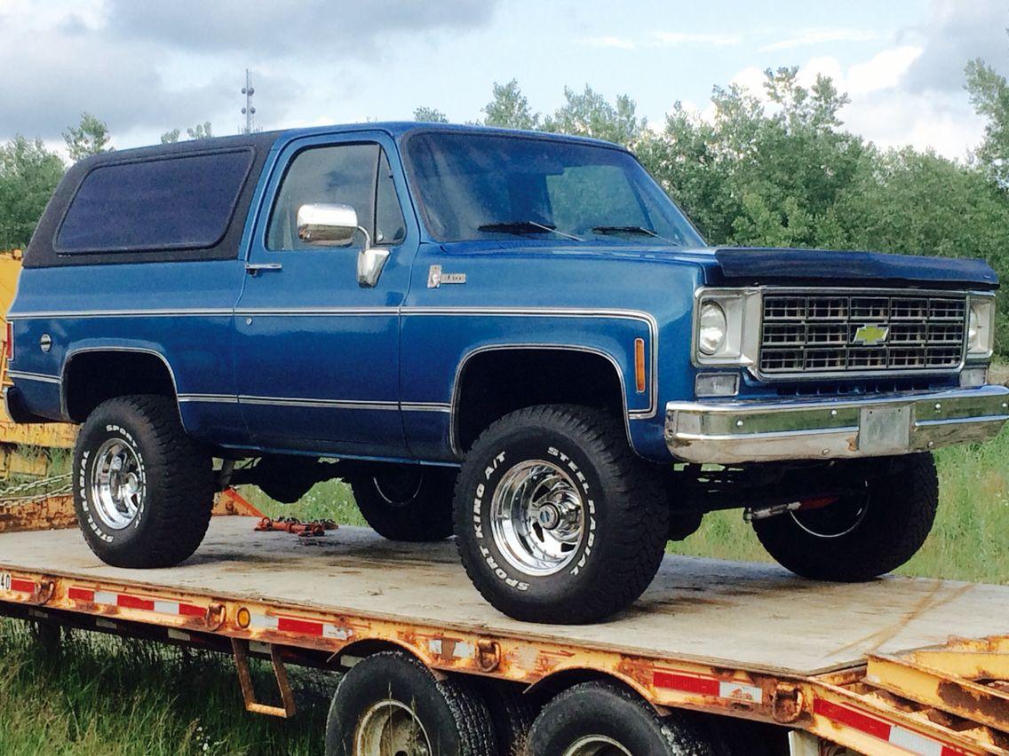 1976 K5 Blazer Chevrolet Trucks Chevy Trucks Classic Chevy Trucks