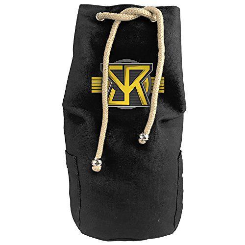 Cool Professional Wrestler Seth RollinsBasic Logo Drawstrings Gym Backpack Bag ** For more information, visit image link.